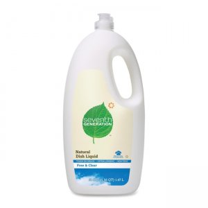 Seventh Generation 22724 Free and Clear Natural Dishwashing Liquid SEV22724