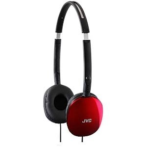 JVC HAS160R FLATS Headphone HA-S160
