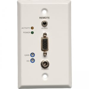 Tripp Lite B132-100A-WP-1 TAA/GSA Compliant Wallplate Video Console