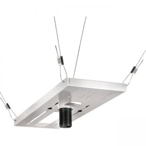 Peerless CMJ500R1 Lightweight Adjustable Suspended Ceiling Plate For Use With Projecto
