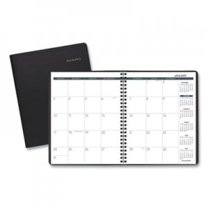 At-A-Glance AAG7012005 Monthly Planner, 6 7/8 x 8 3/4, Black, 2018