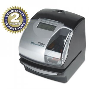 Acroprint 010209000 ES900 Digital Automatic 3-in-1 Machine, Silver and Black ACP010209000