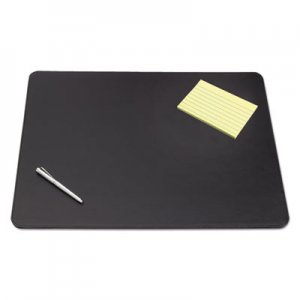 Artistic AOP510081 Sagamore Desk Pad w/Decorative Stitching, 38 x 24, Black