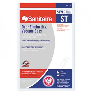 Electrolux Sanitaire EUR63213B10 Eureka Disposable Bags for SC600 & SC800 Series Vacuums, 5/Pack 63213B-10