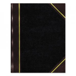 National 57131 Texthide Record Book, Black/Burgundy, 300 Green Pages, 14 1/4 x 8 3/4 RED57131