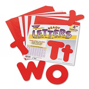 "TREND TEPT79902 Ready Letters Casual Combo Set, Red, 4""h, 182/Set"
