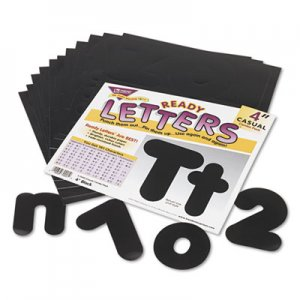 "TREND T79901 Ready Letters Casual Combo Set, Black, 4""h, 182/Set TEPT79901"