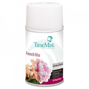 TimeMist 1042824 Metered Fragrance Dispenser Refills, French Kiss 6.6 oz., 12 Cans/Carton TMS1042824
