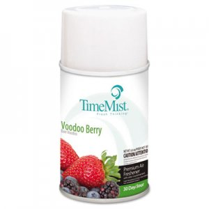 TimeMist 1042727 Metered Fragrance Dispenser Refills, Voodoo Berry 5.3 oz, 12 Cans/Carton TMS1042727