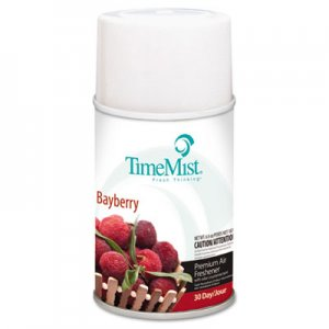 TimeMist 1042705 Metered Fragrance Dispenser Refills, Bayberry 5.3 oz, 12 Cans/Carton TMS1042705