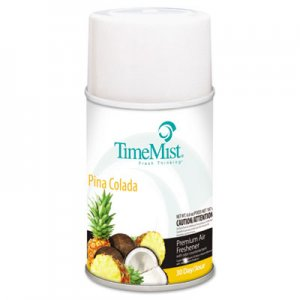 TimeMist 1042690 Metered Fragrance Dispenser Refills, Pia Colada 5.3 oz, 12 Cans/Carton TMS1042690