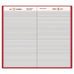 At-A-Glance AAGSD37613 Standard Diary Daily Diary, Recycled, Red, 7 11/16 x 12 1/8, 2016 SD376-13