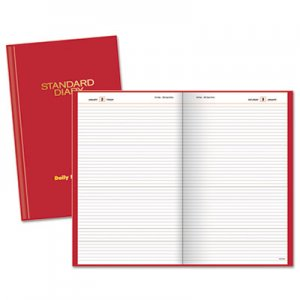 At-A-Glance AAGSD38513 Standard Diary Recycled Daily Reminder, Red, 4 3/16 x 6 1/2, 2016 SD385-13