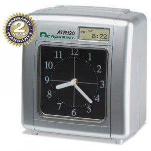 Acroprint ACP010212000 Model ATR120 Analog/LCD Automatic Time Clock 01-0212-000