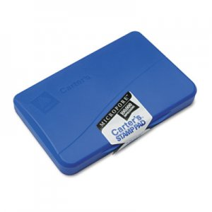 Carter's 21261 Micropore Stamp Pad, 4 1/4 x 2 3/4, Blue AVE21261