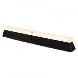 "Boardwalk BWK20224 Floor Brush Head, 2 1/2"" Black Tampico Fiber, 24"""