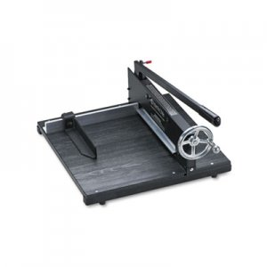 "Premier 7000E Commercial Stack Paper Cutter, 350 Sheet Capacity, Wood Base, 16"" x 20 PRE7000E"