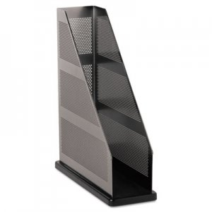 Rolodex ROLE22635 Distinctions Magazine File, 3 3/4 x 10 1/4 x 12, Metal/Black
