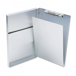 "Saunders 10519 Snapak Aluminum Forms Folder, 1/2"" Capacity, Holds 8-1/2w x 14h, Silver SAU10519"
