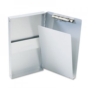 "Saunders 10507 Snapak Aluminum Forms Folder, 3/8"" Capacity, Holds 5-2/3w x 9-1/2h, Silver SAU10507"