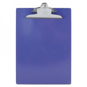 "Saunders 21606 Recycled Plastic Clipboards, 1"" Capacity, Holds 8 1/2w x 12h, Purple SAU21606"