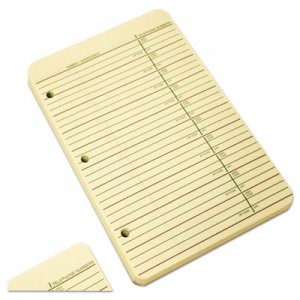 Wilson Jones 812R Looseleaf Phone/Address Book Refill, 5 1/2 x 8 1/2, 80 Sheets WLJ812R