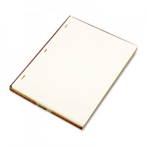 Wilson Jones WLJ90110 Looseleaf Minute Book Ledger Sheets, Ivory Linen, 11 x 8-1/2, 100 Sheet/Box 901-10