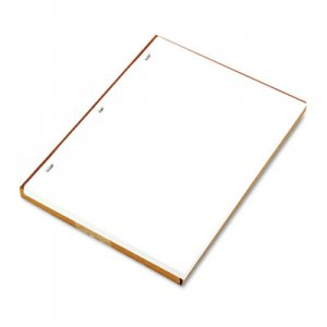 Wilson Jones WLJ90310 Ledger Sheets for Corporation and Minute Book, White, 11 x 8-1/2, 100 Sheets 903-10