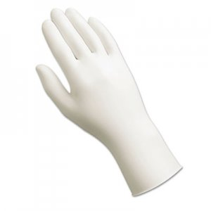 AnsellPro 34725XL Dura-Touch 5 Mil PVC Disposable Gloves, X-Large, Clear, 100/Box ANS34725XL