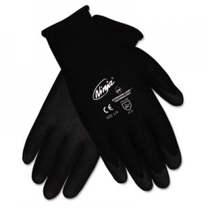 Memphis N9699M Ninja HPT PVC coated Nylon Gloves, Medium, Black, Pair CRWN9699M