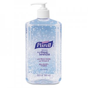PURELL 3023-12EA Hand Sanitizer, 20-oz. Pump Bottle GOJ302312EA 3023-12