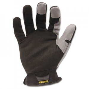 Ironclad IRNWFG04L Workforce Glove, Large, Gray/Black, Pair WFG-04-L