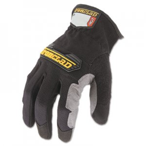 Ironclad IRNWFG03M Workforce Glove, Medium, Gray/Black, Pair WFG-03-M