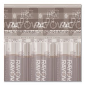 Rayovac RAY8134TK High Energy Premium Alkaline Battery, D, 4/Pack