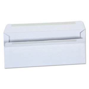 Universal 36100 Self-Seal Business Envelope, #10, White, 500/Box UNV36100