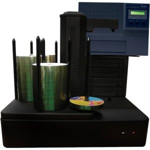 Vinpower Digital CRONUS500-S4T-NP-BK DVD/CD Publisher