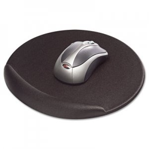 Kelly Computer Supply KCS50155 Mouse Pad, Memory Foam, Non-Skid Base, 8 x 8 x 3/4, Black