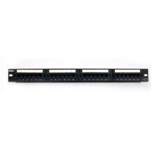 Belkin C-PP5-24-F-BK 24 Port Cat5e Network Patch Panel