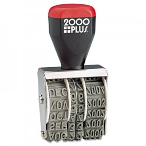 "COSCO 2000PLUS 012731 Traditional Date Stamp, Six Years, 1 3/8 x 3/16"" COS012731"