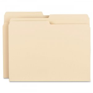 Business Source 17524 Top Tab File Folder