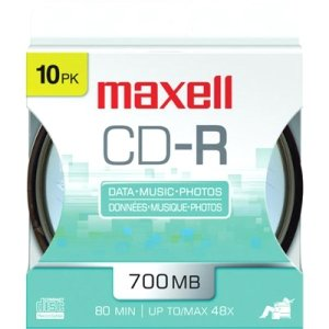 Maxell 648450 48x CD-R Media