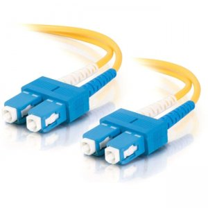 C2G 34538 Fiber Optic Duplex Patch Cable - Plenum-Rated