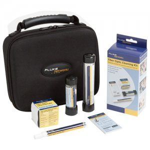 Fluke Networks NFC-KIT-CASE Fiber Optic Cleaning Kit