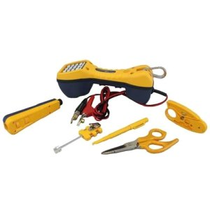 Fluke Networks 11290000 Electrical Contractor Telecom Kit I (with TS30 test set)