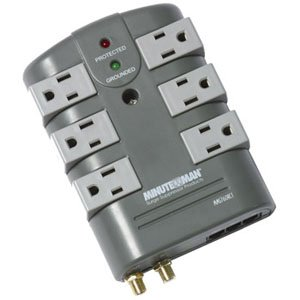 Minuteman MMS760RCT MMS Series 6 Outlet Surge Suppressor