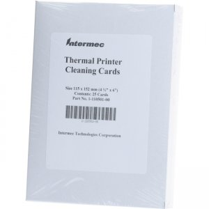Intermec 1-110501-00 Cleaning Card