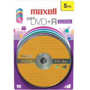 Maxell 639031 16x DVD+R Media