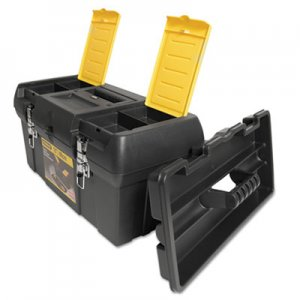 Stanley 019151M Series 2000 Toolbox w/Tray, Two Lid Compartments BOS019151M