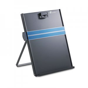 Fellowes 11053 Metal Copyholder, Steel, 200 Sheet Capacity, Black FEL11053