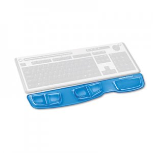 Fellowes 9183101 Gel Keyboard Palm Support, Blue FEL9183101